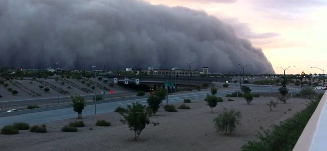 Se esperan grandes tormentas de polvo durante temporada de monzones
