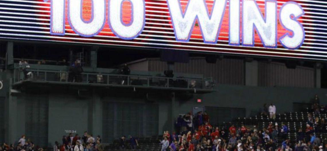 Red Sox consiguen 100 triunfos por primera vez desde 1946