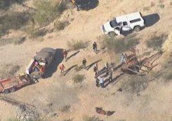 Hombre es rescatado tras caer en pozo de mina abandonada en Arizona West