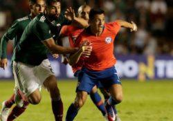 México no puede con Chile y pierde 1-0