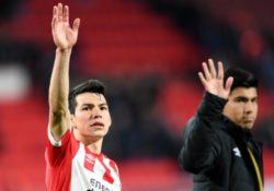 El PSV reconoce a Hirving Lozano por sus 25 goles