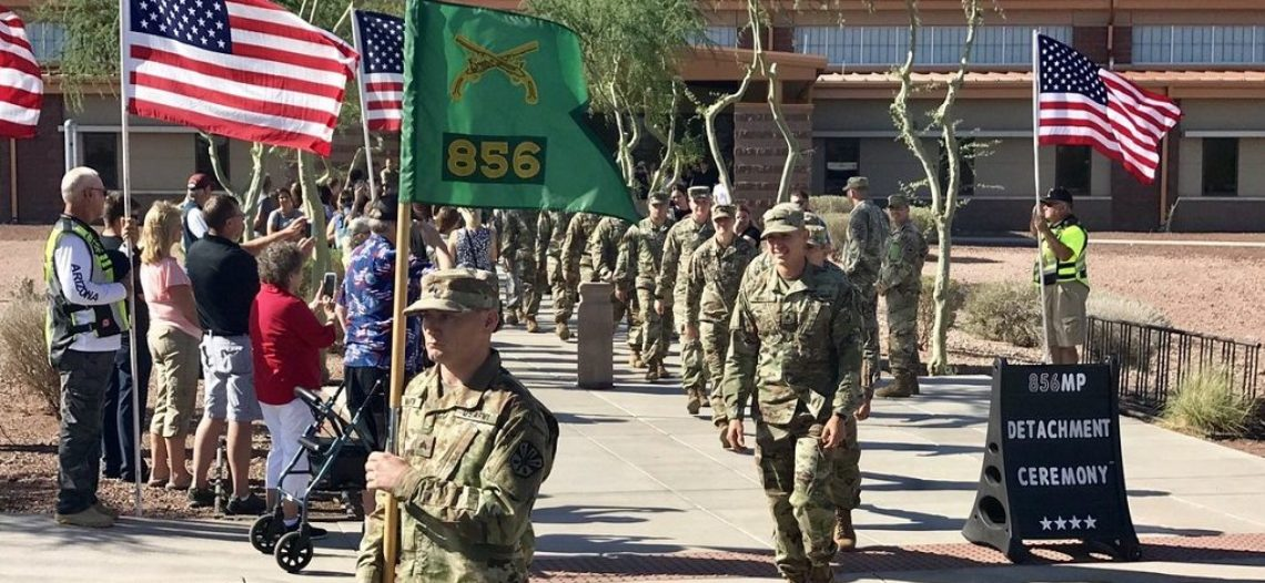 Nueva instalación de la Guardia Nacional del Ejército en Tucson
