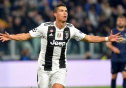 Cristiano marca su primer gol con la Juventus en Champions