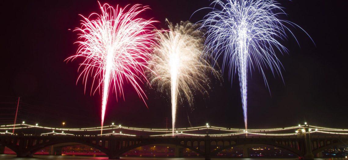 Fuegos artificiales cancelados en la celebración de Año Nuevo de Tempe