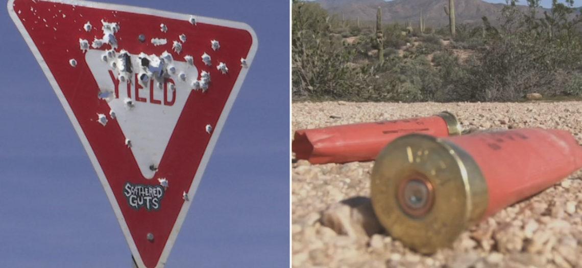 Demasiadas personas están ensuciando el desierto