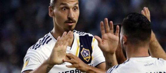 Zlatan Ibrahimovic dejará fuera a uno de los Dos Santos