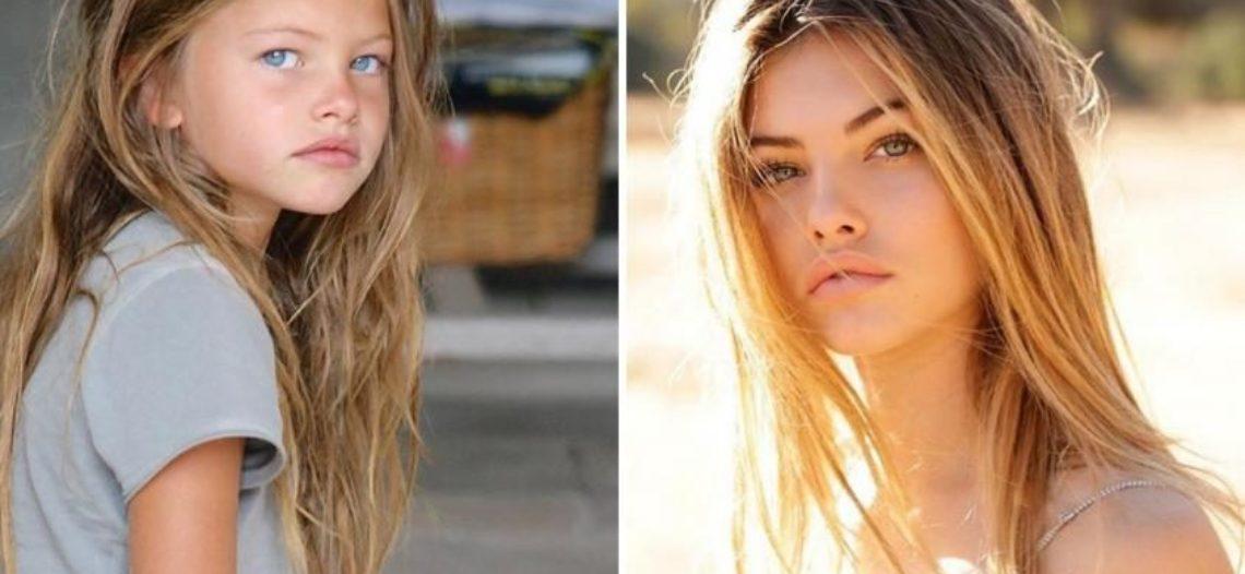 """Thylane Blondeau, la """"niña más bonita del mundo"""", once años después"""