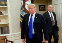 Tras reunión explosiva, Trump hace berrinches en la Casa Blanca