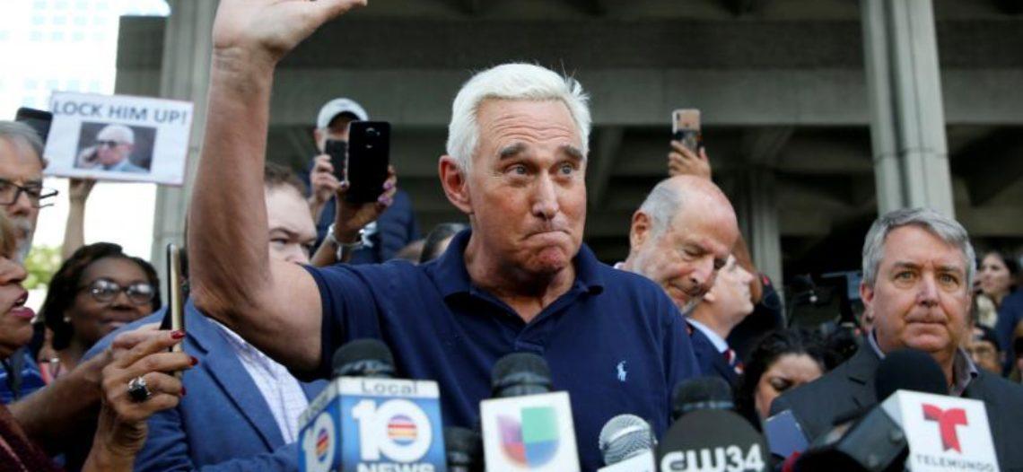 Roger Stone, exasesor de Trump, no descarta cooperar con Mueller