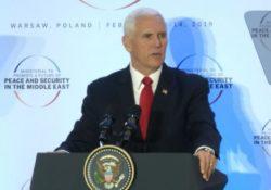 Pence pide a sus aliados retirarse de pacto nuclear con Irán