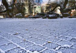 En alerta varias ciudades por fuerte tormenta invernal en centro y este
