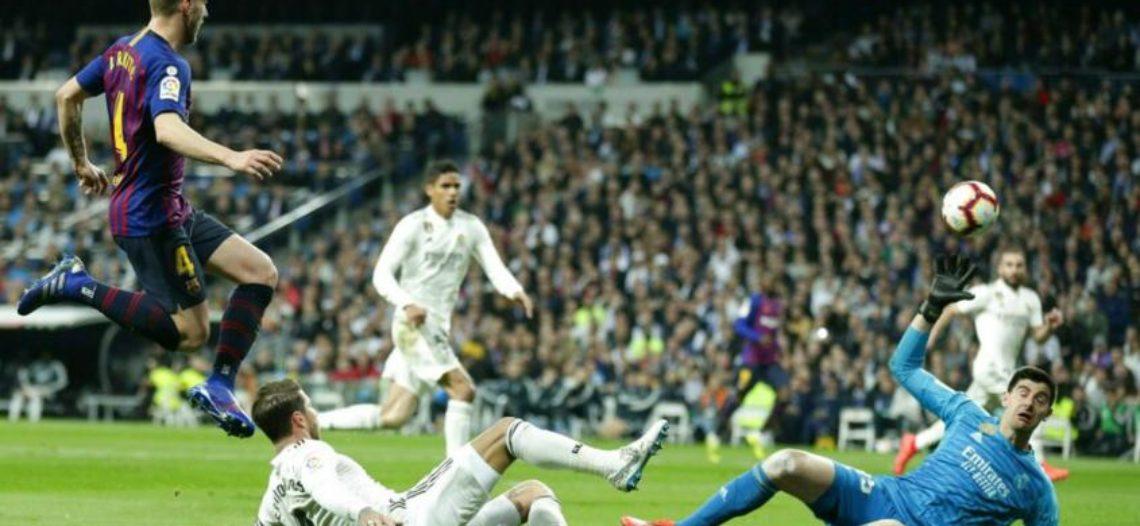 Barcelona manda otra vez en el Bernabéu, hunde al Madrid