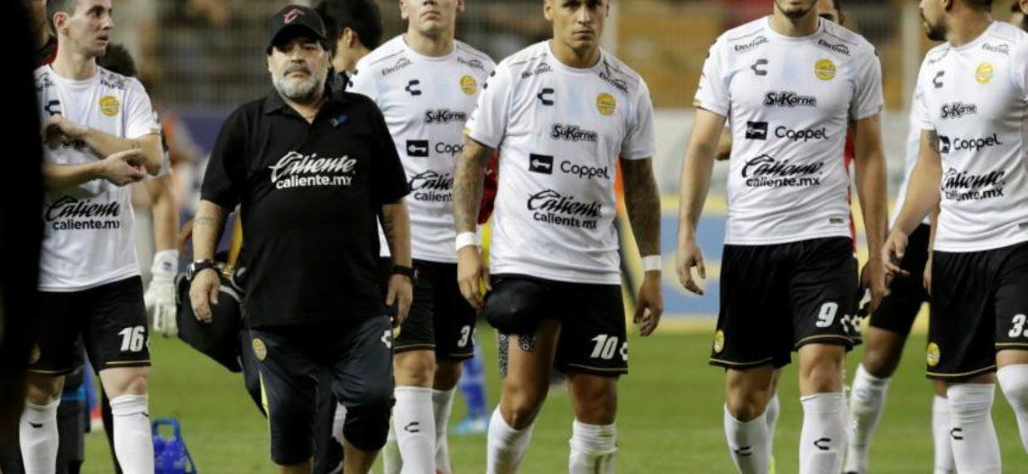 Dorados de Maradona y Atlético de San Luis dejan todo para el duelo de vuelta