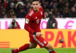 James Rodríguez no seguirá con el Bayern Múnich