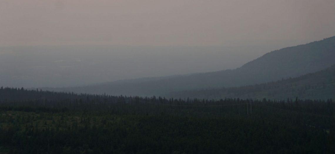 Ola de calor en Alaska genera humareda tóxica y derrite glaciares