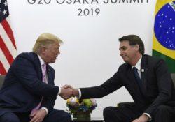 Bolsonaro asegura que Brasil está alineado a la política de EEUU