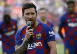 Messi se lesiona durante entrenamiento; no viajará para la pretemporada