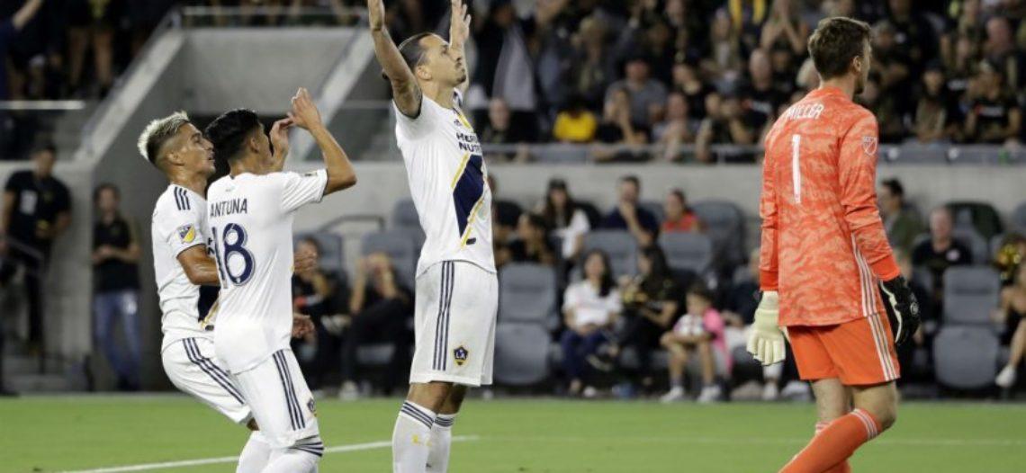LA Galaxy de Ibrahimovic y Los Angeles FC de Carlos Vela empatan 3-3
