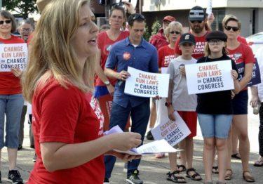 Manifestaciones exigen al Congreso mayor control de armas