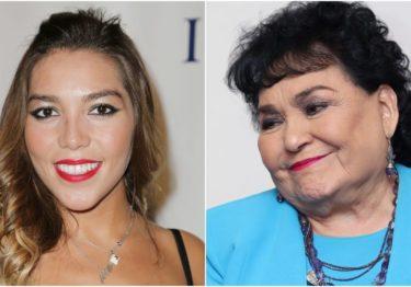 Ofrece Carmen Salinas adoptar a Frida Sofía