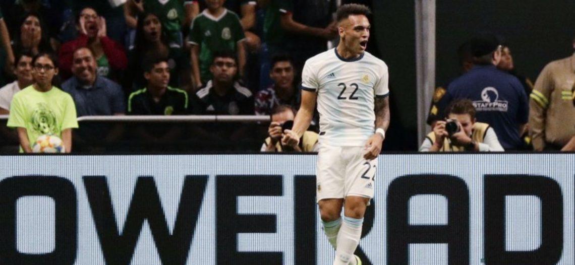 México cae por goleada ante Argentina en partido amistoso