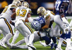 Saints superan a Cowboys en duelo defensivo