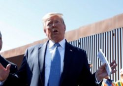 Primer tuit en español de Trump va contra migrantes