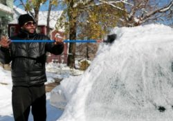 Tormenta deja a centro-norte de EEUU cubierto de nieve