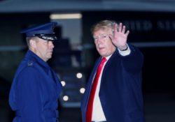 Visita no programada de Trump a hospital genera inquietudes