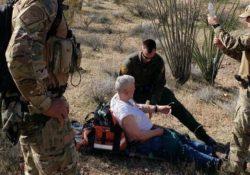 Rescatan a hombre de 77 años en Kofa Mountains