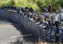 Guardia Nacional frena caravana migrante para impedir su paso hacia EEUU